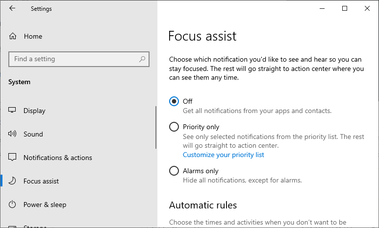 How to Stop Games From Minimizing Windows 10